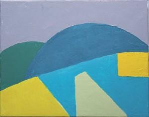 Etel Adnan Art work