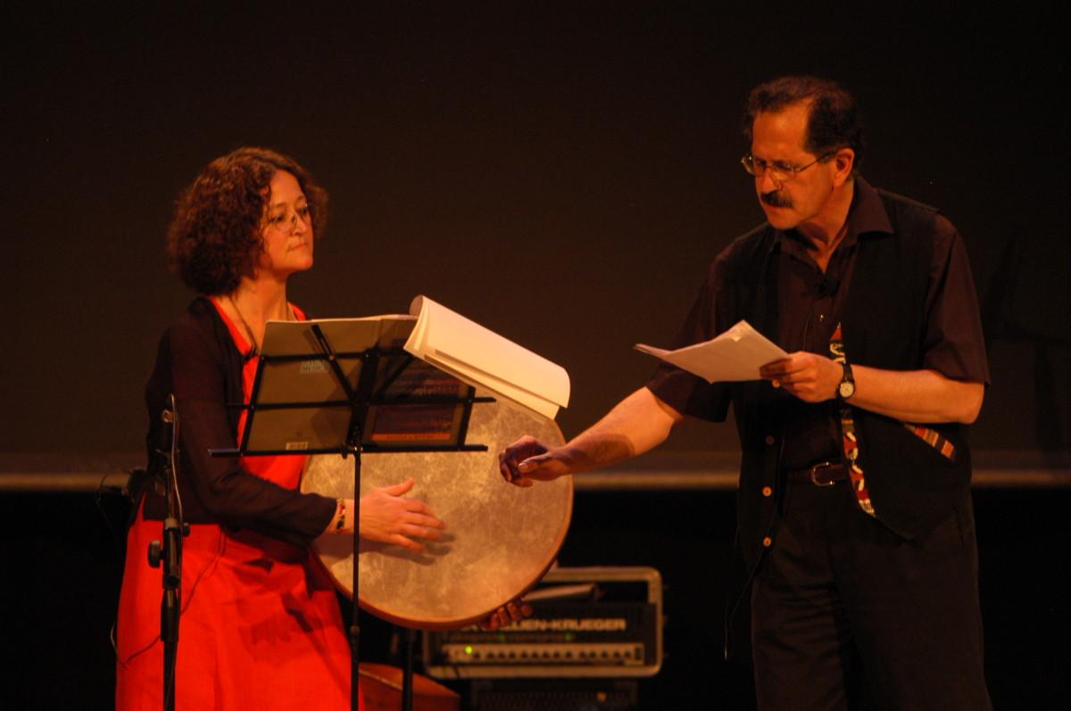 Michel Cassir e Claudia Christiansen. Foto di Andrea Pecchioli