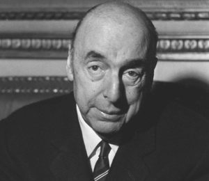 PARIS - OCTOBER 21: Picture dated October 21, 1971 of writer, poet and diplomat Pablo Neruda, then Chilean ambassador in France, answering journalists' questions at the embassy in Paris after being awarded the 1971 Nobel Literature Prize. (Photo by AFP/Getty Images)