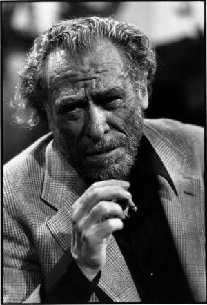 Charles Bukowski ( 1926-1994 ) on TV show Apostrophes in september 1978.