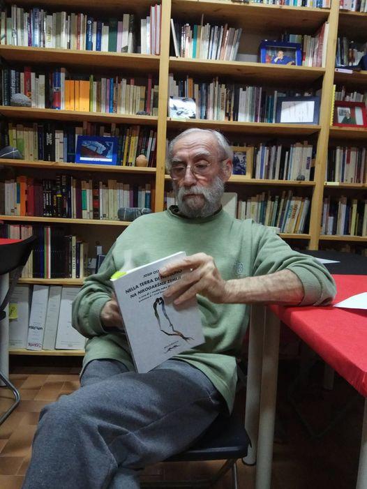 Josip Osti a Casa della poesia